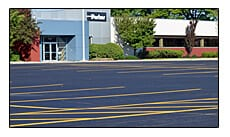 Picture of Parking Lot Line Striping at Parker Hannifan in Wickliffe, Ohio