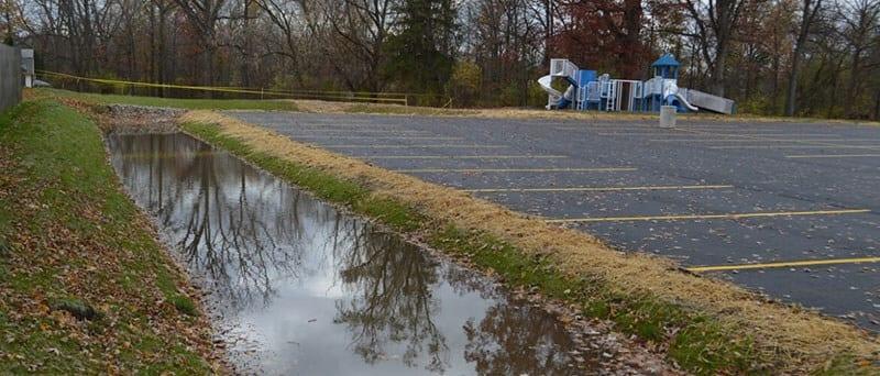 Abram Creek Parking Lot Construction