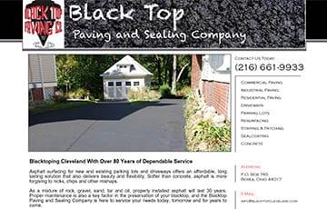 Black Top Paving & Sealing Co.