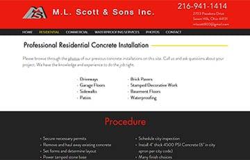 M.L. Scott & Sons Inc.